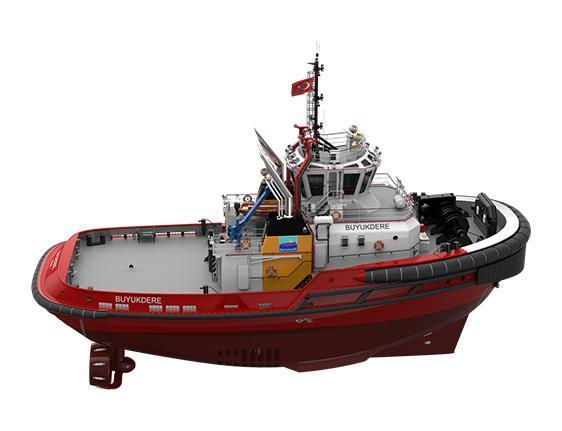 Sanmar Buyukdere tugboat