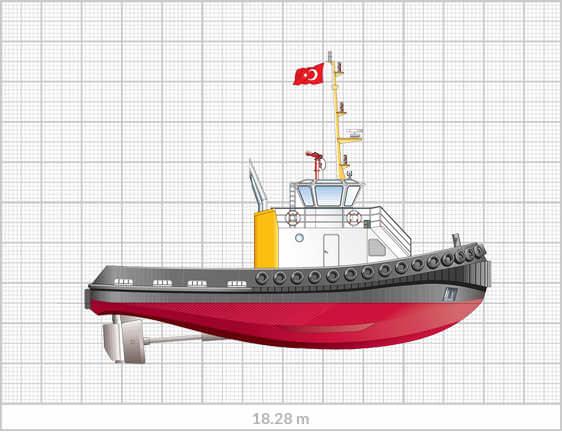 Sanmar Series 18.28 m