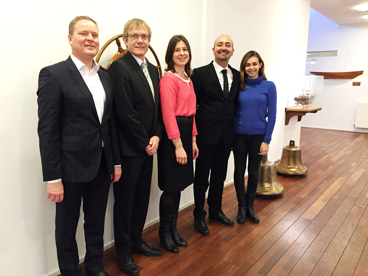 Esben Gruntvig - New Building Manager, Svitzer Kristian Brauner - CTO, Svitzer Otilija Buch - Head of Procurement, Svitzer Ali Gürün - Member of Board, SANMAR Ipek Gürün - Intern, SANMAR