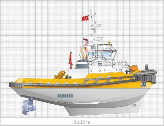 Sanmar-Eskort-Tugboat