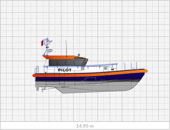 Sanmar Pilot Boat PI-15