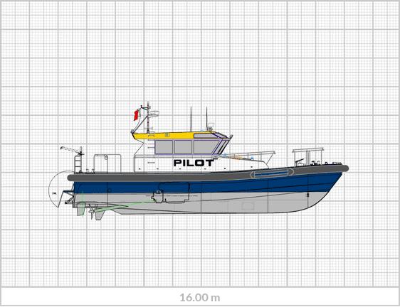 Sanmar Pilot Boat PI-16