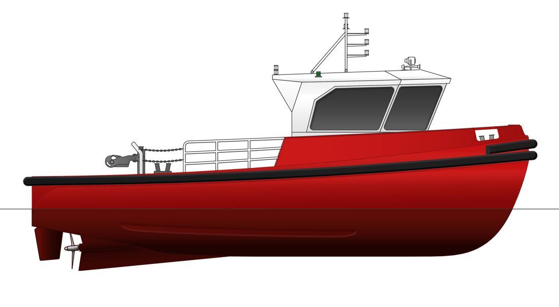 Sanmar Mooring Boat MB 11.9