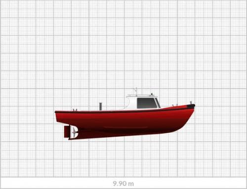 Sanmar Mooring Boat MB 9.9