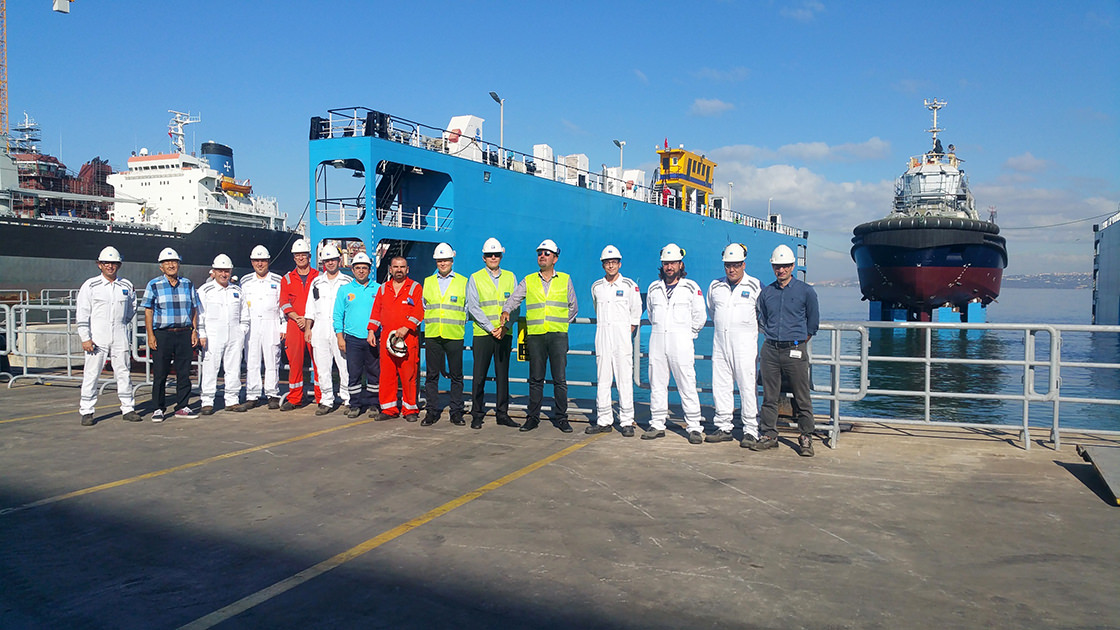 Svitzer Team Visited Sanmar Shipyards