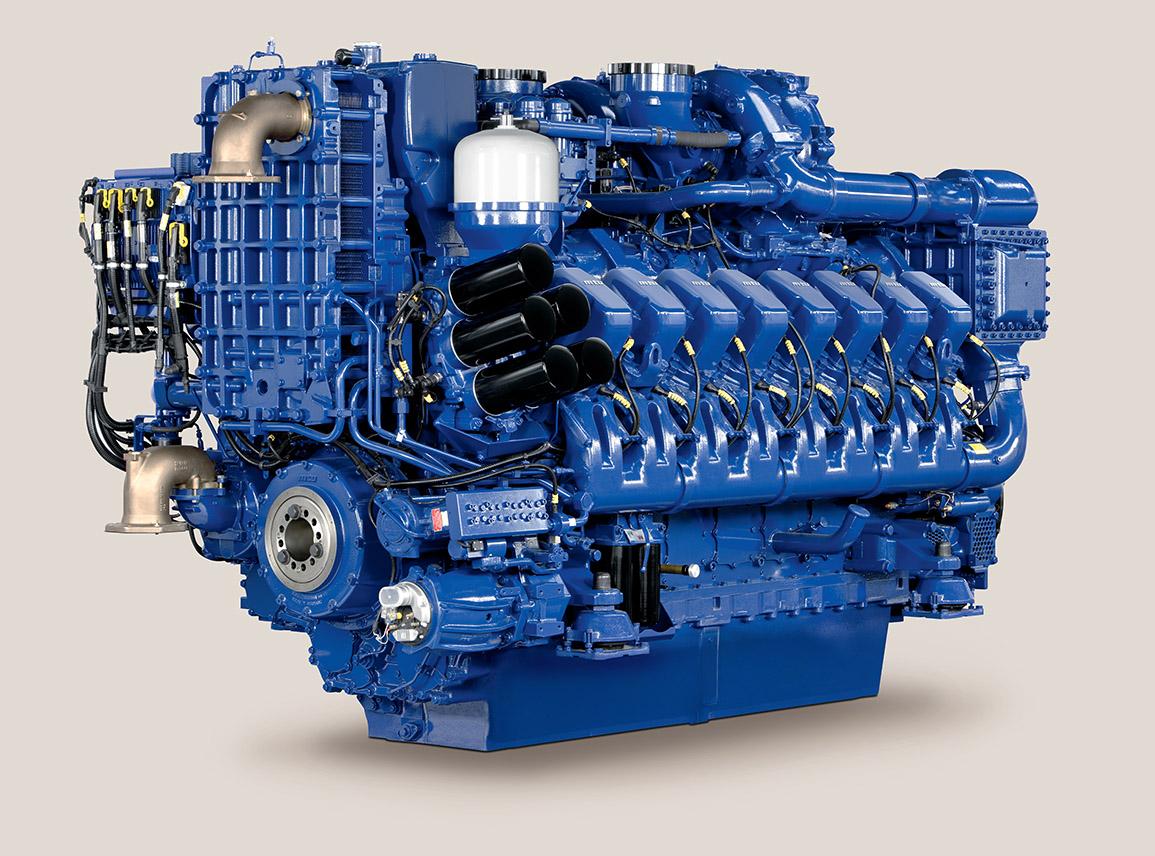 16V 4000 M73L MTU Engine