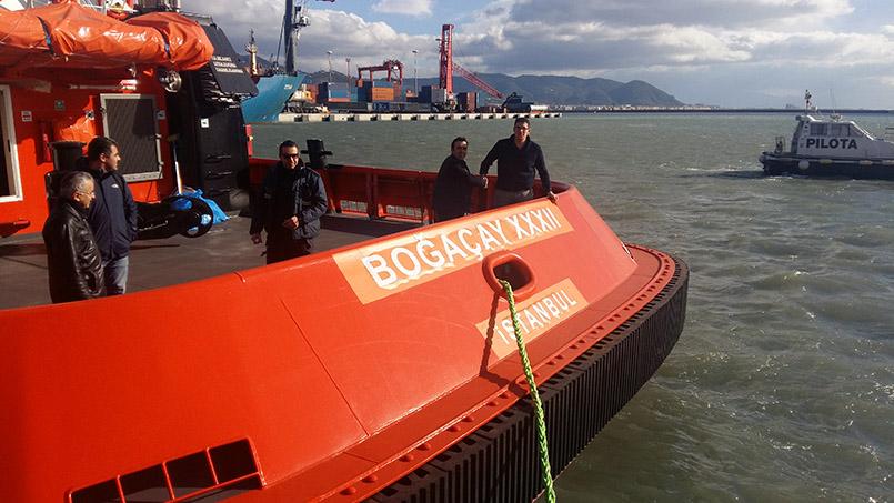 Sanmar Shipyard Boğaçay XXXII renamed Citta di Salerno
