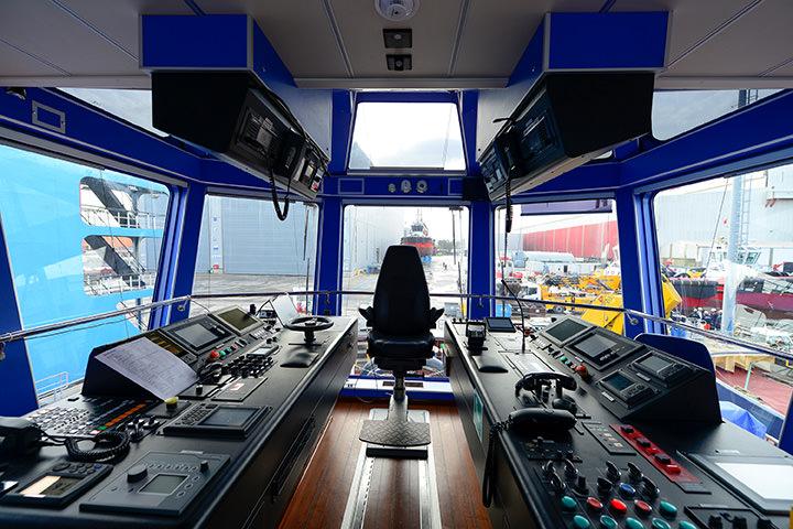 Sanmar Shipyards Vectra Series Bridge