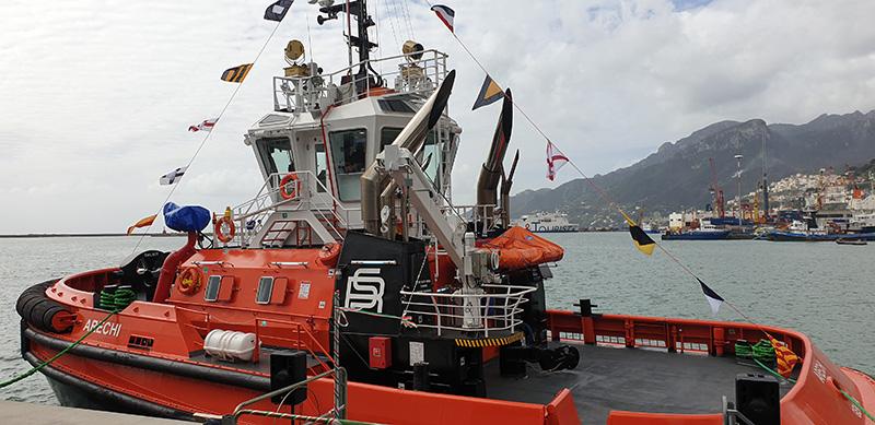 Sanmar delivers another RAmparts 2400SX ASD to Rimorchiatori Salerno