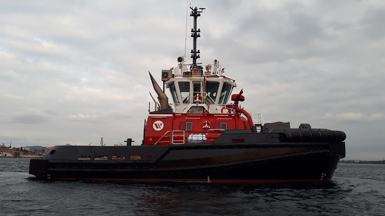 Seaspan Raptor Tugboat
