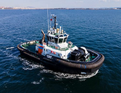 Sanmar Delivers the First of a Pair of Unique Ice-breaking Tugboat